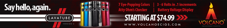 Buy Volcanoecigs Lavatube ecigs